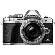 Olympus OM-D E-M10 Mark III S + 14-42 mm EZ Silber - Digitalkamera