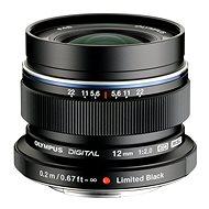M.ZUIKO DIGITAL ED 12mm F/2.0 schwarz - Objektiv