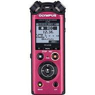 Olympus LS P2 digitales Diktiergerät Music und Voice Recorder 8GB Rot - Digitales Diktiergerät