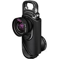 Olloclip core lens + 2 cases Black/Black für iPhone 7 und iPhone 7 Plus - Objektiv