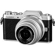 Panasonic LUMIX DMC-GF7 silber + 12-32-mm-Objektiv - Digitalkamera