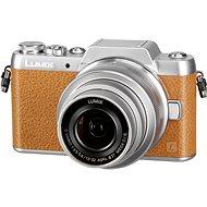 Panasonic LUMIX DMC-GF7 braun + Objektiv 12-32 mm - Digitalkamera