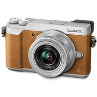 Panasonic LUMIX DMC-GX80 braun + 12 - 32 mm Objektiv - Digitalkamera