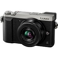 Panasonic LUMIX DMC-GX80 silber + 12-32 mm Objektiv - Digitalkamera