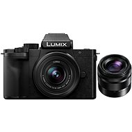 Panasonic LUMIX G100 + 12-32 mm Objektiv + 35-100 mm Objektiv - Digitalkamera