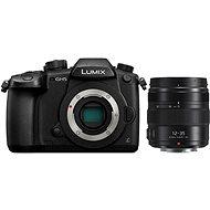 Panasonic LUMIX DMC-GH5 Gehäuse + Panasonic Lumix GX 12 mm - 35 mm f/2,8 II Power OIS Schwarz - Digitalkamera