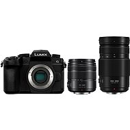 Panasonic LUMIX DC-G90 + Lumix G Vario 14-140mm schwarz + Panasonic Lumix G Vario 100-300mm f/4.0-5.6 - Digitalkamera