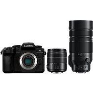 Panasonic LUMIX DC-G90 + Lumix G Vario 14 mm - 140 mm schwarz + Panasonic Leica DG Vario-Elmar 100 m - Digitalkamera