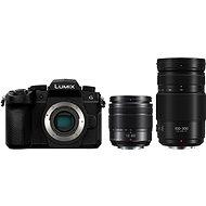 Panasonic LUMIX DC-G90 + Lumix G Vario 12-60mm schwarz + Panasonic Lumix G Vario 100-300mm f/4.0-5.6 P - Digitalkamera