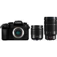 Panasonic LUMIX DC-G90 + Lumix G Vario 12-60mm schwarz + Panasonic Leica DG Elmarit 50-200mm f/2.8-4.0 - Digitalkamera