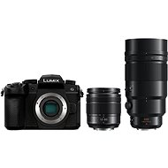 Panasonic LUMIX DC-G90 + Lumix G Vario 12 mm - 60 mm schwarz + Panasonic Leica DG Elmarit 200 mm f/2,8 - Digitalkamera