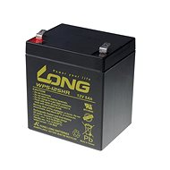 Long 12V 5Ah Bleibatterie HighRate F2 (WP5-12SHR F2) - Ladebatterie