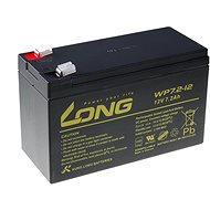 Lange 12V 7.2Ah Bleibatterie F2 (WP7.2-12 F2) - Ersatzbatterie