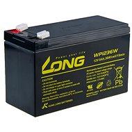 Long 12V 9Ah Bleibatterie HighRate F2 (WP1236W) - Ladebatterie