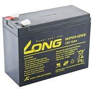 Long 12V 10Ah DeepCycle AGM F2 Blei-Säure-Batterie (WP10-12SE) - Akku