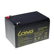 Long 12V 12Ah DeepCycle AGM F2 BleibBatterie (WP12-12E) - Ladebatterie