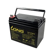 Lange 12V 33Ah Blei-Säure-Batterie F4 (U1-33H) - Ladebatterie