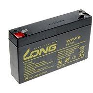 Lange 6V 7Ah Bleibatterie F1 (WP7-6) - Ladebatterie