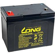 Long 12V 75Ah lead acid battery Deep Cycle AGM M6 (KPH75-12NE) - Traction Battery