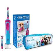 Oral-B Vitality Kids Frozen + Hülle - Elektrische Zahnbürste