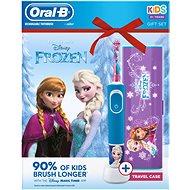 Oral-B Vitality Frozen + Reiseetui - Elektrische Zahnbürste für Kinder