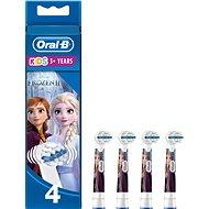 Oral-B Kids Frozen / Die Eiskönigin Bürstenkopf - 4 Stück - Ersatzbürste für Zahnbürsten