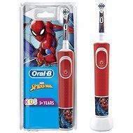 Oral-B Vitality Kids Spiderman - Elektrische Zahnbürste für Kinder
