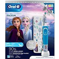 Oral-B Vitality Kids Frozen II + Reiseetui - Elektrische Zahnbürste für Kinder