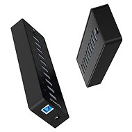 USB Hub Orico USB-A Hub 10 x USB 3.0 mit Stromversorgung