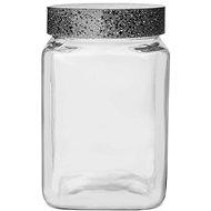 Einmachglas / UH GRANIT quadratisch 1,5 l
