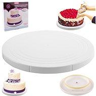 ORION Servierplatte für Kuchen/Torten UH - drehbar - O 27 cm - Ständer