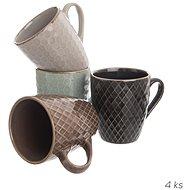 Tasse Keramik SHINEY 0,27 l 4 Stk. ASS