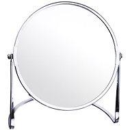 ORION DUO Mirror, Chrome, 17cm Diameter, Stand - Makeup Mirror