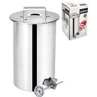 ORION Schinkenkocher aus Edelstahl mit Thermometer 10 cm - Schinkenkocher