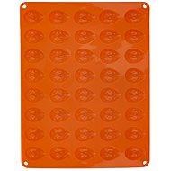 ORION Silikonform NÜSSE 40 - orange - Backform