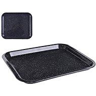 ORION Blech aus Emaille - 42 cm x 37 cm x 3,5 cm - Backblech