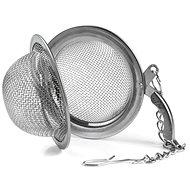 Edelstahl Teesieb mit Scharnier und Clip O 4,5 cm - Tee-Sieb