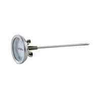 Thermometer zum Räuchern aus Edelstahl - 16 cm - Thermometer