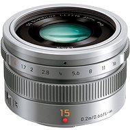 Panasonic Leica DG Summilux 15mm f/1.7 ASPH silber - Objektiv