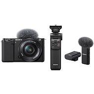 Sony Alpha ZV-E10 + 16-50 mm f/3.5-5.6 + Grip GP-VPT2BT + Mikrofon ECM-W2BT - Digitalkamera
