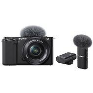 Sony Alpha ZV-E10 + 16-50 mm f/3.5-5.6 + Mikrofon ECM-W2BT - Digitalkamera