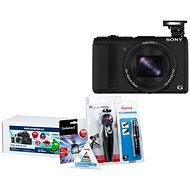 Sony CyberShot DSC-HX60 Schwarz + Alza Foto Starter Kit 32 GB - Digitalkamera