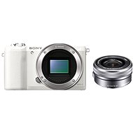 Digitalkamera Sony Alpha A5100 weiß + Objektiv 16-50 mm - Digitalkamera