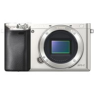 Sony Alpha A6000 silber, Gehäuse - Digitalkamera