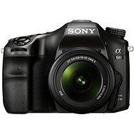 Sony Alpha A68 + Objektiv 18-55 mm II - Digitale Spiegelreflexkamera