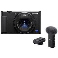 Sony ZV-1 + ECM-W2BT Mikrofon - Digitalkamera