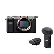 Sony Alpha A7C Silber + ECM-W2BT Mikrofon - Digitalkamera