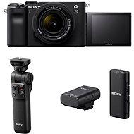 Sony Alpha A7C + FE 28-60mm + Handgriff GP-VPT2BT + Mikrofon ECM-W2BT - Digitalkamera