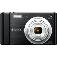 Sony Cybershot DSC-W800 schwarz - Digitalkamera