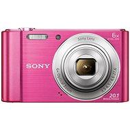 Digitalkamera Sony Cybershot DSC-W810 Pink - Digitalkamera